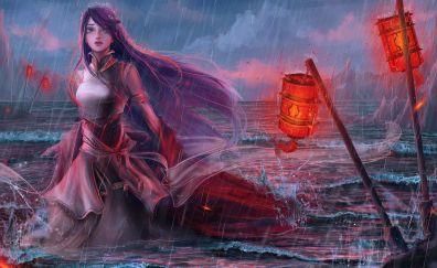 Fantasy women artwork