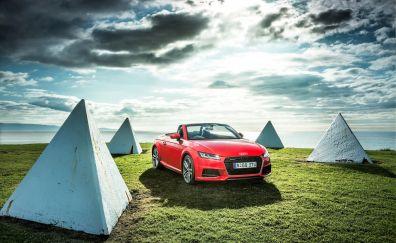 Audi TT Roadster, sports, luxury car