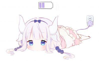 Minimal, Kanna Kamui, Kobayashi-san Chi no Maid Dragon, charging