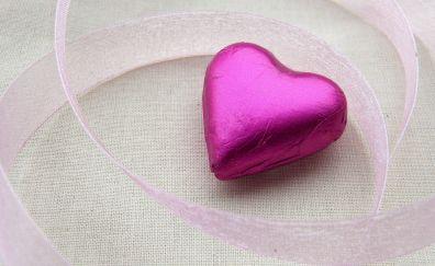 Ribbons, heart shape