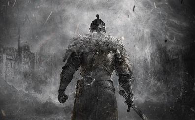 Dark souls ii, game, warrior