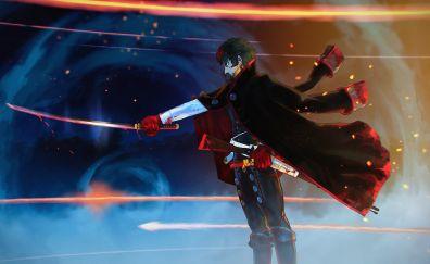 Anime boy, Hijikata Toshizou, Fate/Grand Order
