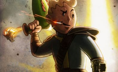 Vault Boy, Fallout, video game