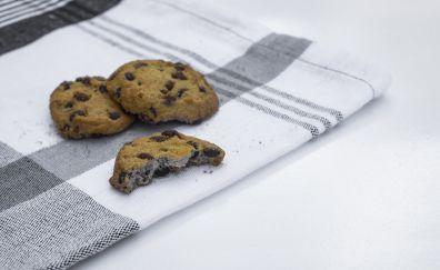 Brown, Chocolate, Cookies, food