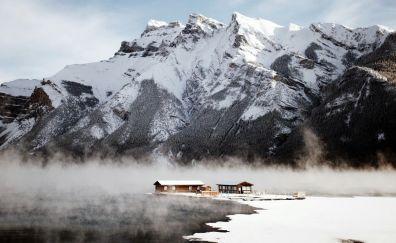 Canada's snow mountains