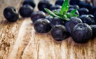 Berry, blueberry, fruits