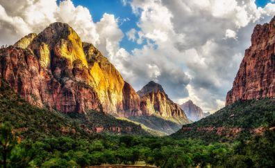 Zion national park, nature