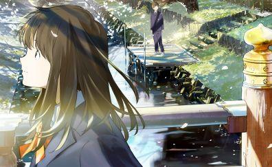 Tsuki ga Kirei, anime girl