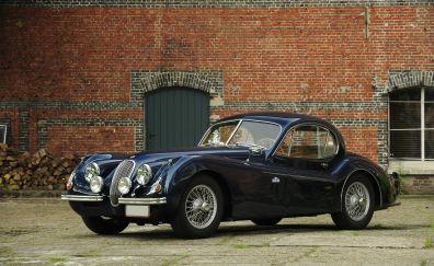 Jaguar XK120 classic cars, retro cars