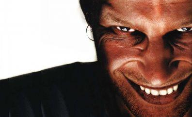 Musician Aphex Twin face