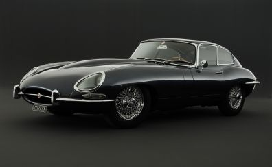 Jaguar XKE, sports car, classic car