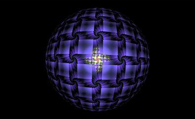Fractal ball sphere