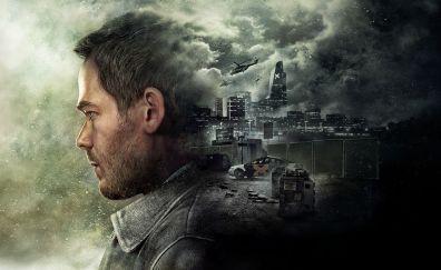 Quantum break video game, 2016 game, artwork
