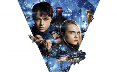 Valerian and the City of a Thousand Planets, 2017 movie, 4k, 8k