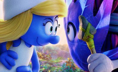 Smurfs: The Lost Village, animated movie, 2017 movie
