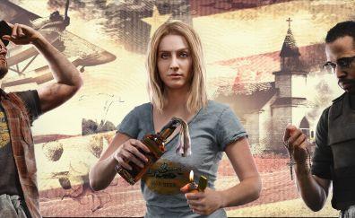 Far cry 5, widescreen, video game
