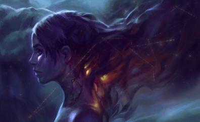 Fantasy girl carina artwork