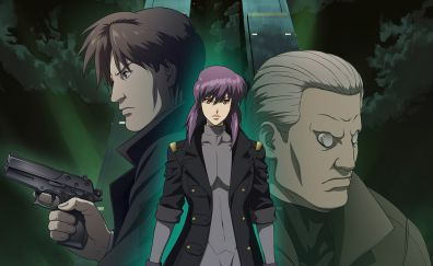Ghost in the shell: stand alone complex, anime