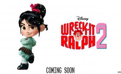 Vanellope von Schweetz, Wreck-It Ralph 2 animated movie, 2018 movie