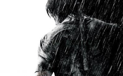 Rambo 4, 2008 movie, monochrome
