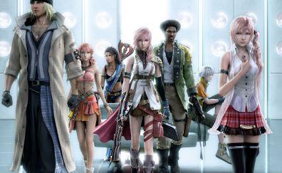 Final fantasy, Lunafreya Nox Fleuret, video game, characters, art, 4k