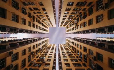 Buildings, skyscrapers