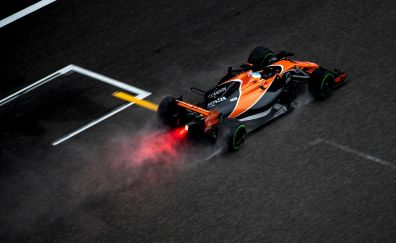 Formula one, sports car, Mclaren, 4k
