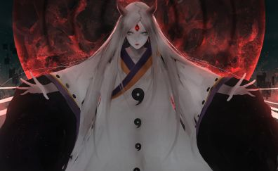 Anime, Kaguya Ōtsutsuki, Naruto Shippuden, anime girl