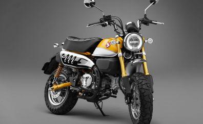 2019 Honda Monkey 125 concept bike, 4k