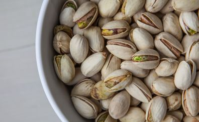 Nuts, bowl, food