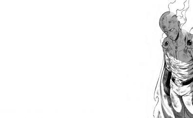 Wounded Saitama, OnePunch Man, anime boy