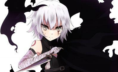 Assassin of Black, Fate series, anime girl