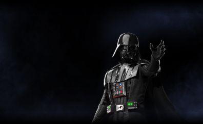 Darth vader, star wars battlefront ii, video game, villain, 5k