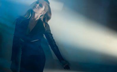 Black dress, celebrity, Teresa Palmer