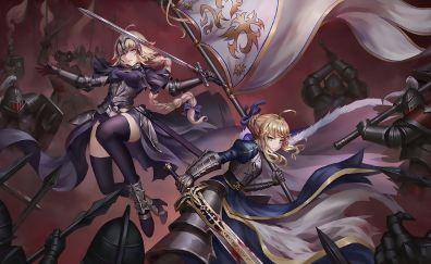 Saber, Jeanne d'arc, alter, fate series