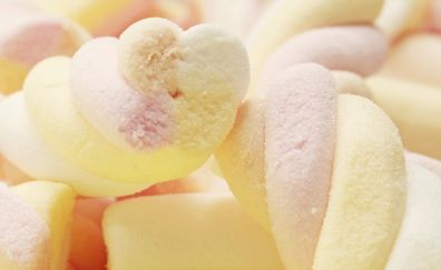 Food, sweets, Marshmallow, close up
