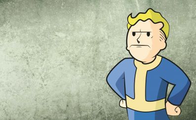Fallout, angry, vault boy, video game