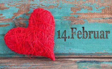 Valentines day, red heart, love, celebration
