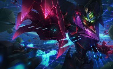 Malzahar, online game, League of Legends, warrior