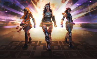 Agents of mayhem, 2017 game, girls