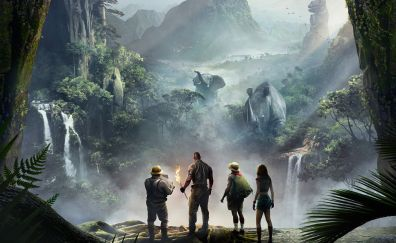 Jumanji: Welcome to the Jungle, 2017 movie, forest