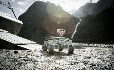 Audi, moon rover, Alien: Covenant, movie, 4k