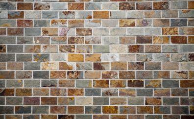 Bricks wall, wall, surface, pattern