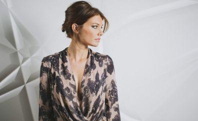 Beautiful Lauren Cohan actress