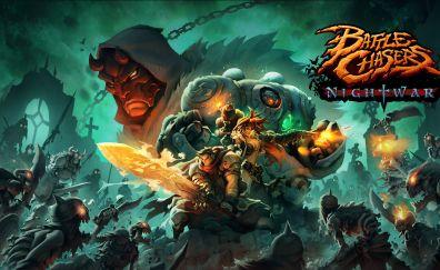 Battle Chasers: Nightwar, video game, 2017