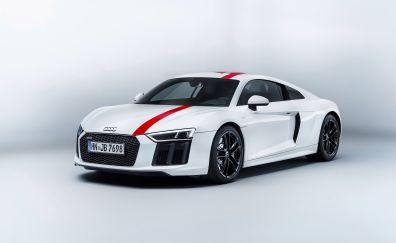 2018 Audi R8 V10 RWS, sports body, 4k