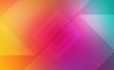 Multicolor, colorful, abstract, lines, 4k