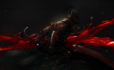 Dark, warrior, bloodborne