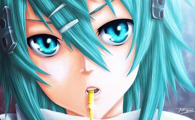 Sinon anime girl