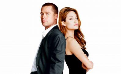 Mr. & Mrs. Smith movie, Brad Pitt, Angelina Jolie
